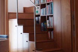 scale in legno Roma